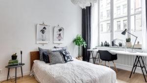 Office in bedroom