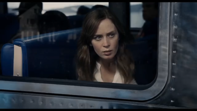 "Emily Blunt stars in ""The Girl on the Train,"" screening at Cinema Under the Stars, Jan. 20-21. Photo: UniversalMovies"