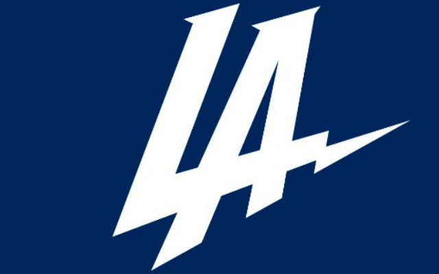 The new logo for the Los Angeles Chargers.