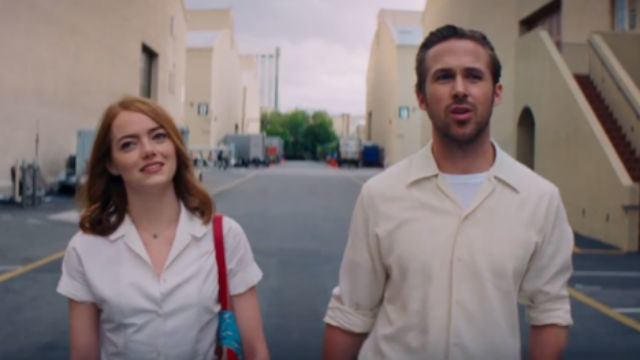 """A scene from """"La La Land."""" Image from official trailer"""