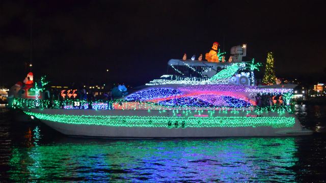 Parade of Lights boat