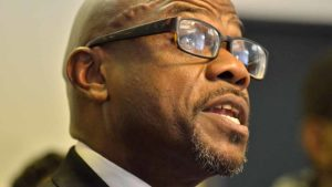 Pastor Pastor Jared Moten of Ebenezer Missionary Baptist Church said a rally would be held Jan. 10 at his Southcrest church. Photo by Ken Stone