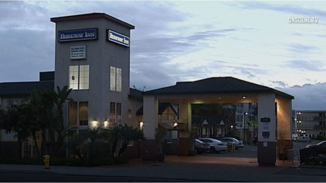 The Rodeway Inn in Oceanside.