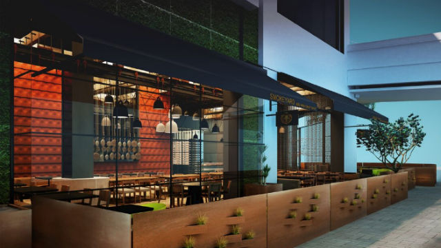 A rendering of the Smokeyard BBQ restaurant planned for Westfield UTC.