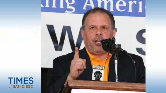 Mickey Kasparian, president of UFCW Local 135 and the San Diego and Imperial Counties Labor Council. Photo via Twitter