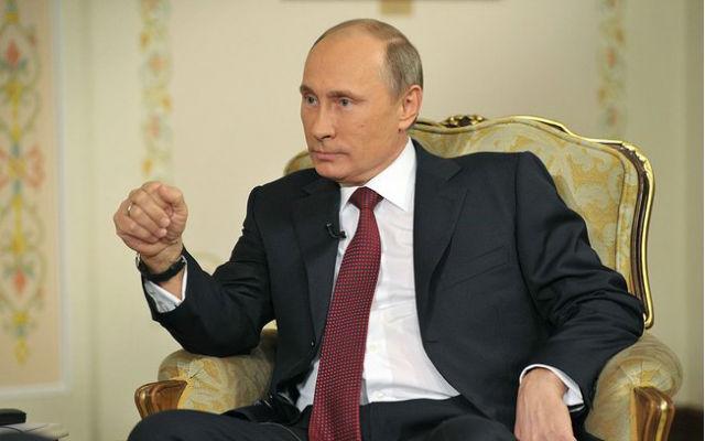 Vladimir Putin in 2013. Photo by Russian Federation press office via Wikimedia Commons