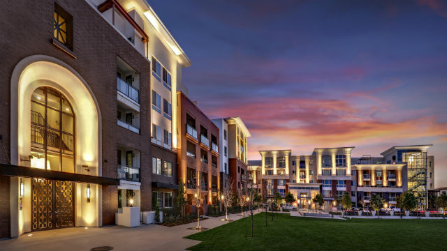 Entrance to Sudberry Properties' West Park at Civita.