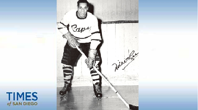 Willie O'Ree. Photo: New Brunswick Sports Hall of Fame