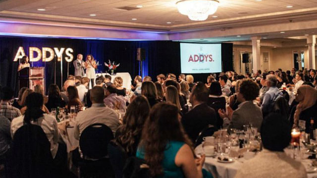 The 2016 ADDY Awards. Photo courtesy SDX