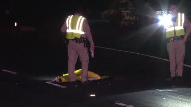 California Highway Patrol officers on the scene of the fatal incident in Bonita, Feb. 2, 2017. Photo: OnSceneTV