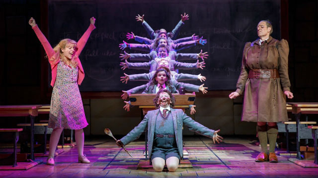 "A scene from ""Matilda"" at the Civic Theatre."