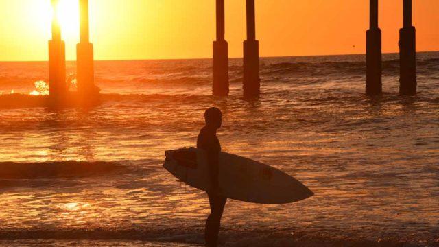 Sunset in Ocean Beach