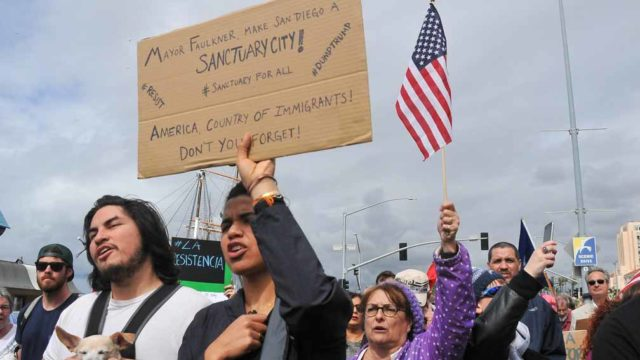 San Diego Immigrants March