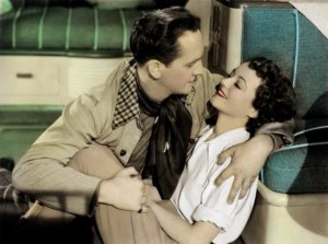 Janet Gaynor and Fredric March. Photo via Wikimedia Commons