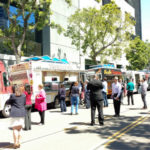 Food trucks in downtown San Diego. Photo by Chris Jennewein