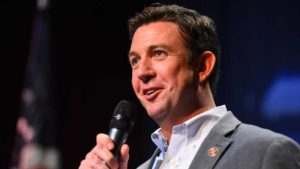 Rep. Duncan D. Hunter speaks at Town Hall meeting in Ramona. Photo by Chris Stone