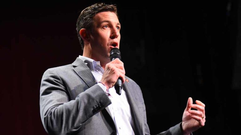 Rep. Duncan D. Hunter at Ramona Mainstage. Photo by Chris Stone