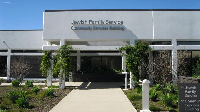 A Jewish Family Service building in Kearny Mesa.