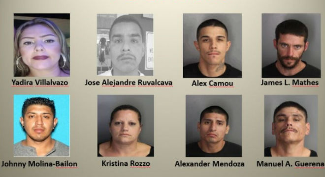 55 Charged With Supplying Heroin Meth In North County