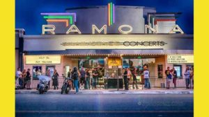 Exterior of Ramona Mainstage. Image via Facebook