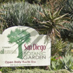 Entrance to San Diego Botanic Garden.