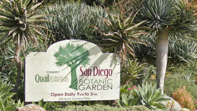 Entrance to San Diego Botanical Garden. Photo by Rachel Cobb