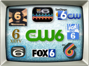 All of the XETV logos.