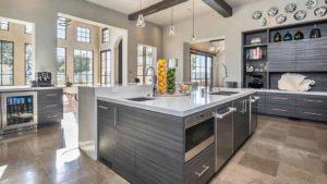 Kitchen of Matt Kemp home in Poway. Photo via Concierge Auctions