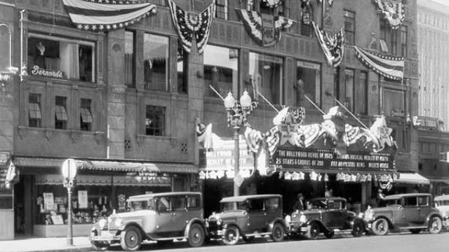 The California Theatre in its heyday of 1929. Courtesy San Diego History Center