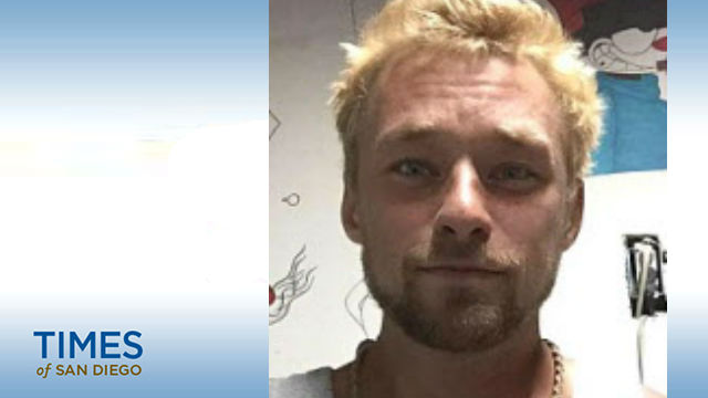 Daniel Joseph Frank Foster, 28, was reported missing in Fallbrook in San Diego County on March 3 after not being seen since Feb. 7. Foster may have been spotted in Anza in late February. Photo courtesy Riverside County Sheriff's Department.