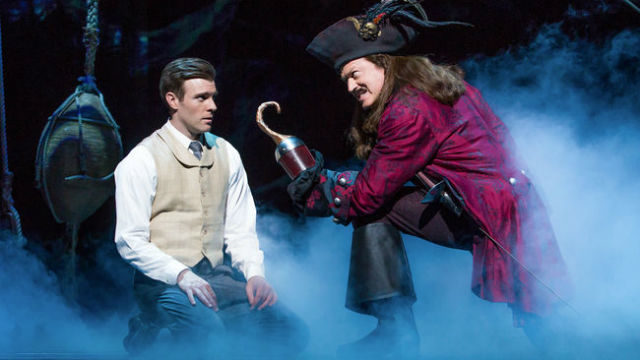 "A scene from ""Finding Neverland"" by Broadway San Diego and the Civic Theatre."