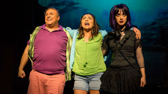 """A scene from """"Into the Beautiful North"""" at the San Diego Repertory Theatre."""