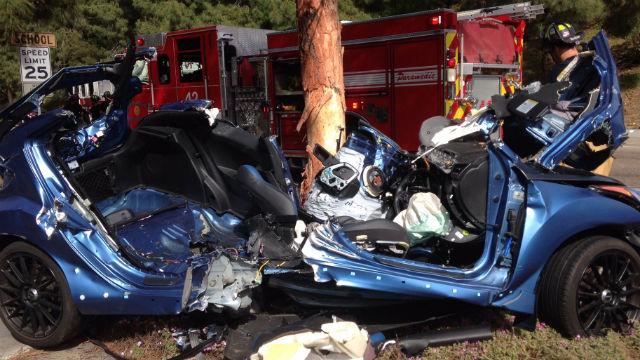 Car Accident Poway Camino Del Norte