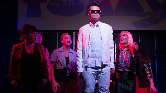 """A scene from """"The Who's Tommy"""" at the OB Playhouse. Photo by John Howard"""