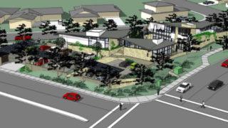 Rendering of UC San Diego Hillel