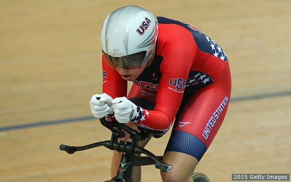 Jennifer Valente. Photo via http://www.teamusa.org/usa-cycling/athletes/Jennifer-Valente#photos