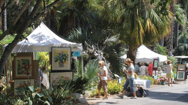 ArtFest at San Diego Botanic Gardens. Photo by Rachel Cobb