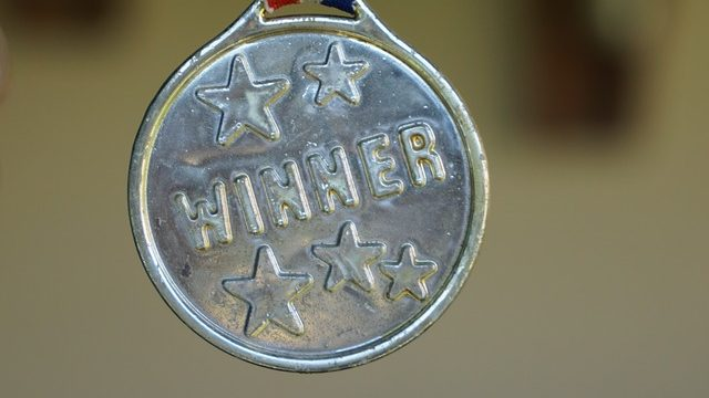 Example of a medal, award but not the one mentioned below in post.