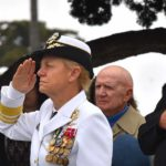 Vice Adm. Nora Tyson at Memorial Day ceremony