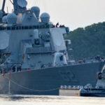 Damaged USS Fitzgerald