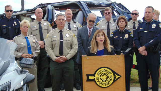 Drunk driving press conference