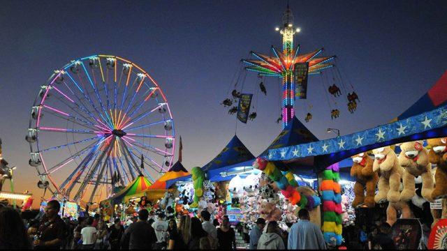 Fun zone at San Diego County Fair