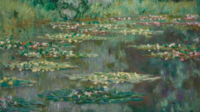 "Claude Monet's ""The Water Lily Pond,,"" painted in 1904. Courtesy Denver Museum of Art"