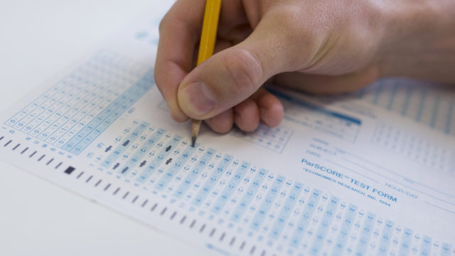 More than 64,500 AP tests were taken in San Diego County last year. Megan Wood, inewsource