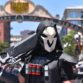 Cosplayer in the Gaslamp