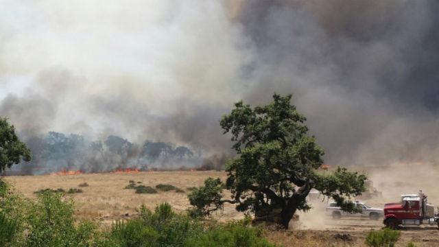 Local Fire Crews Head To San Luis Obispo To Battle 24 000
