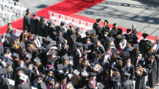 Graduation at Cal State San Marcos