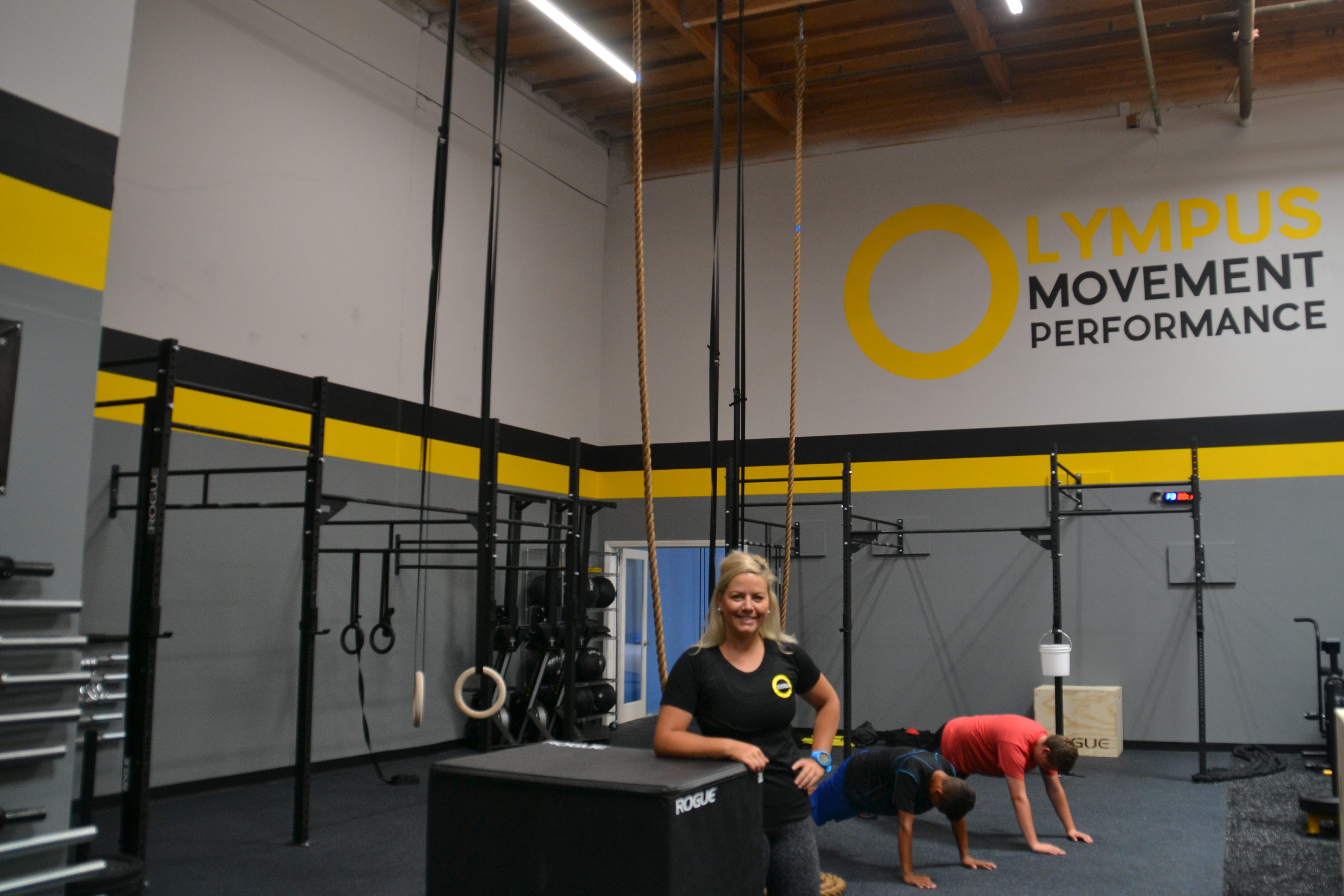 Greater buffalo physical therapy - Olympus Movement Performance Founder Annemarie Alf Stands Inside Her Vista Facility As Clients Train In The Background The Vista Business Opened In July