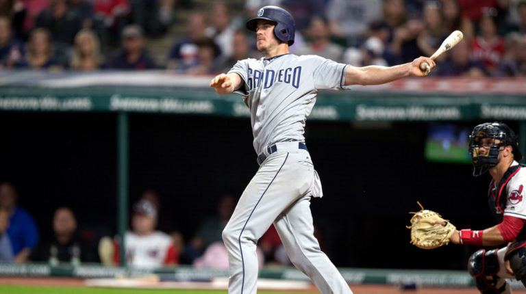 Will Myers Padres at Indians