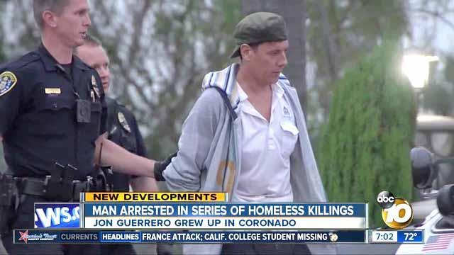 Mann Plädiert auf Schuldig zu Mord in San Diego Obdachlosen Killing Spree